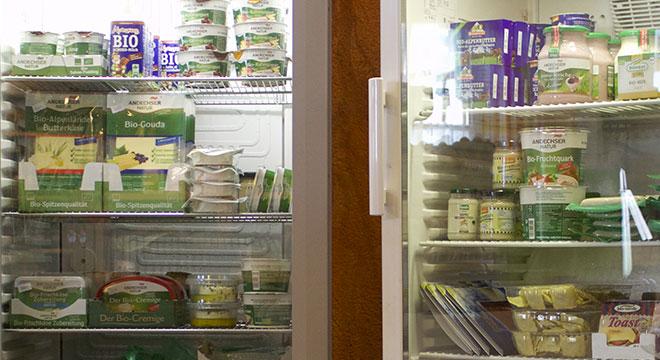 Bio Milchprodukte, Milch, Joguhrt, Quark, Butter