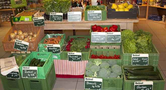 Obst und Gemüse biologischer Anbau